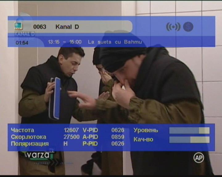 FrocuSat  :  Satellite  :  Frequency tables  :  Eutelsat Hot