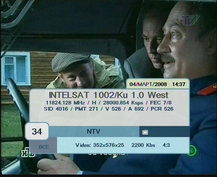 FrocuSat  :  Satellite  :  Channels  :