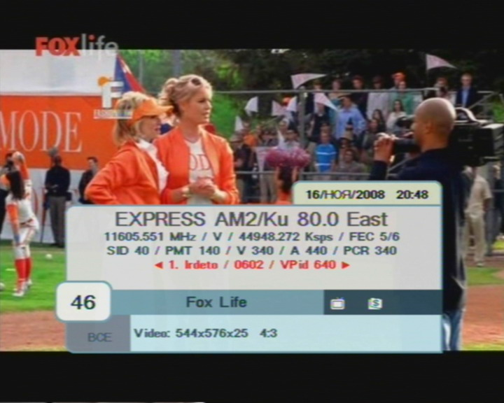 FrocuSat  :  Satellite  :  Channel description  :  ABS 2 / 2A, 75°E